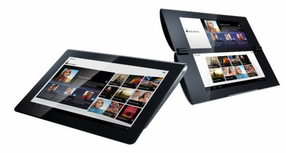 Sony S1 and S2 Android Honeycomb Tablets