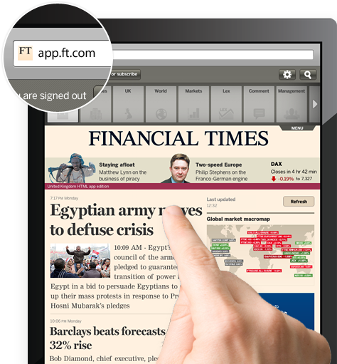 FT Launches HTML5 App To Bypass Apple Subscription Cut | TechFruit