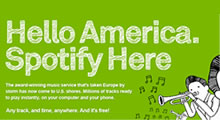 Spotify Comes To The US