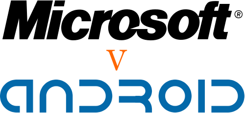 Microsoft vs Android