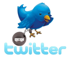 Twitter Use Shackled By BBC