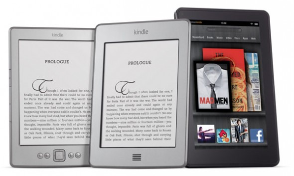 Amazon Kindle, Kindle Touch, and Kindle Fire