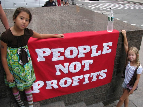 People Not Profits
