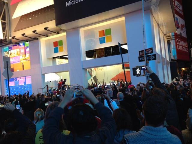 Windows 8 launch party