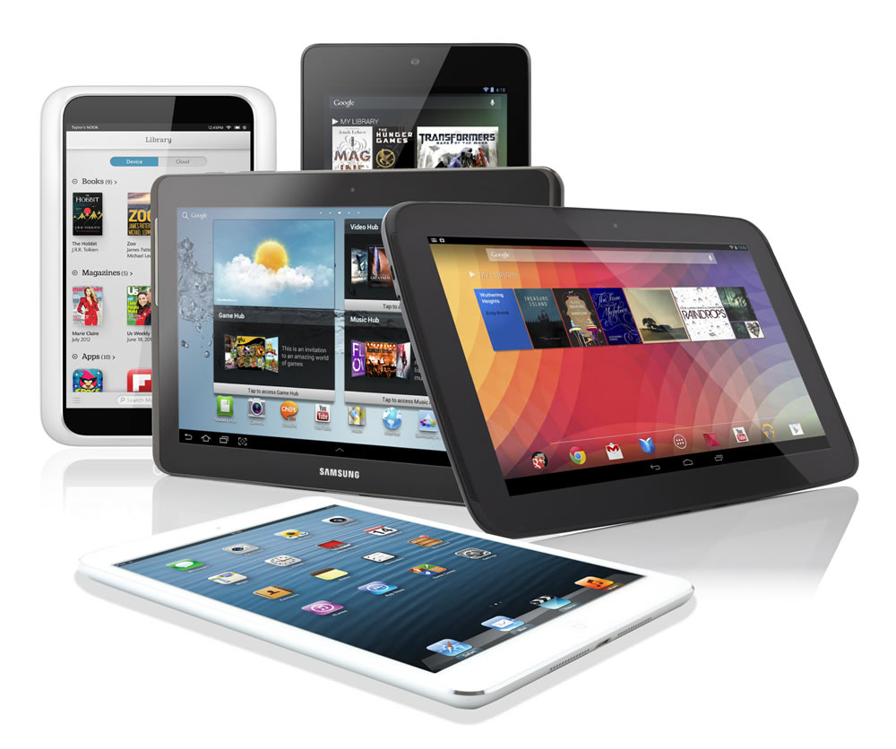 Best tablets 2013
