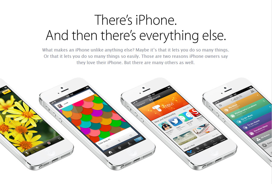 Apple's desperate marketing in the wake of the Samsung Galaxy S4 launch