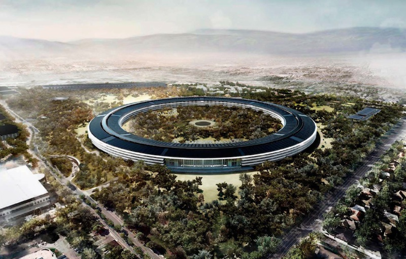 New apple office cupertino Chicago Foster And Partner Video First Look At Apples New mothership Headquarters In Cupertino Techfruit Techfruit Video First Look At Apples New mothership Headquarters In