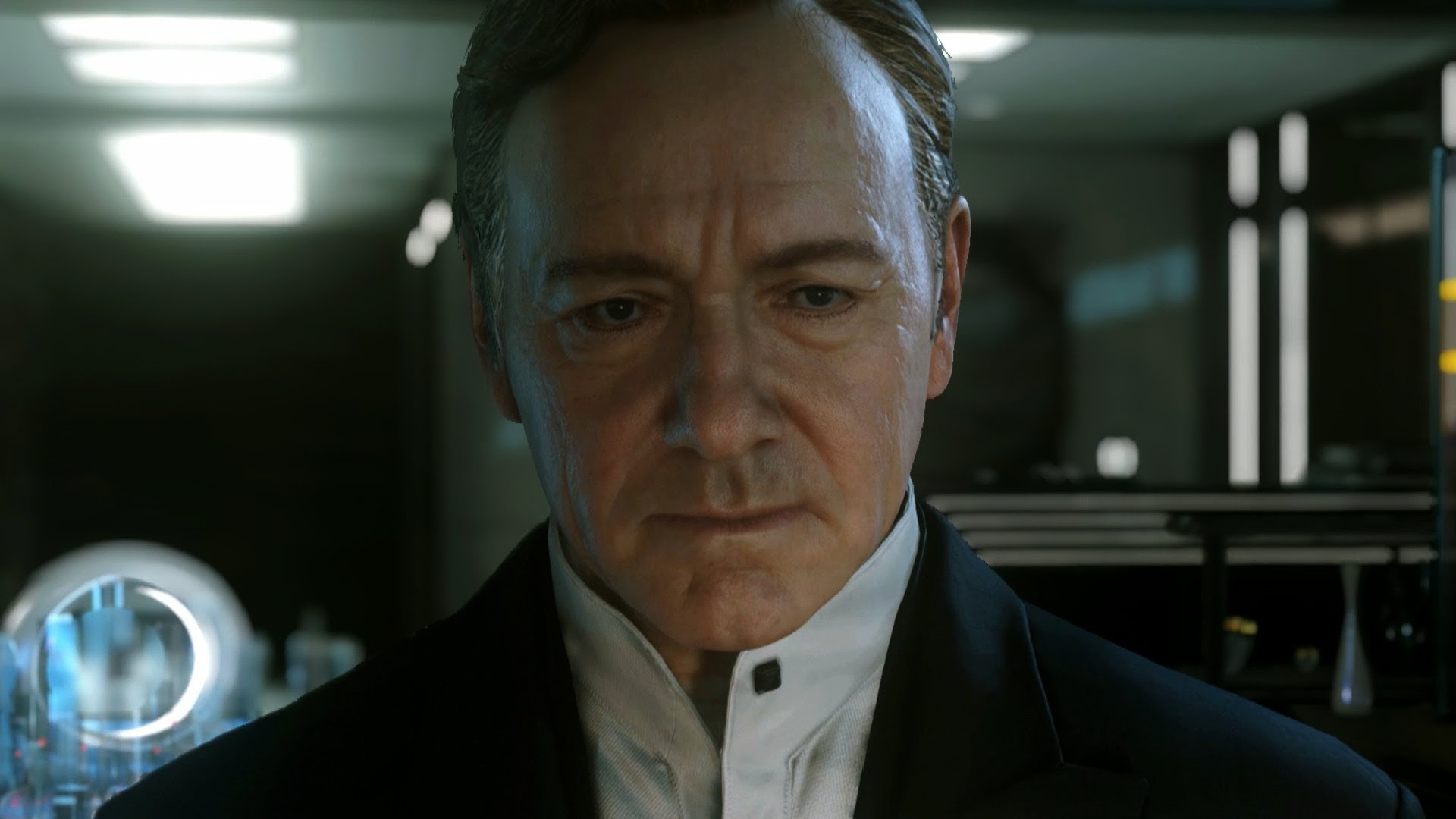 Kevin Spacey in trailer for Call of Duty: Advanced Warfare