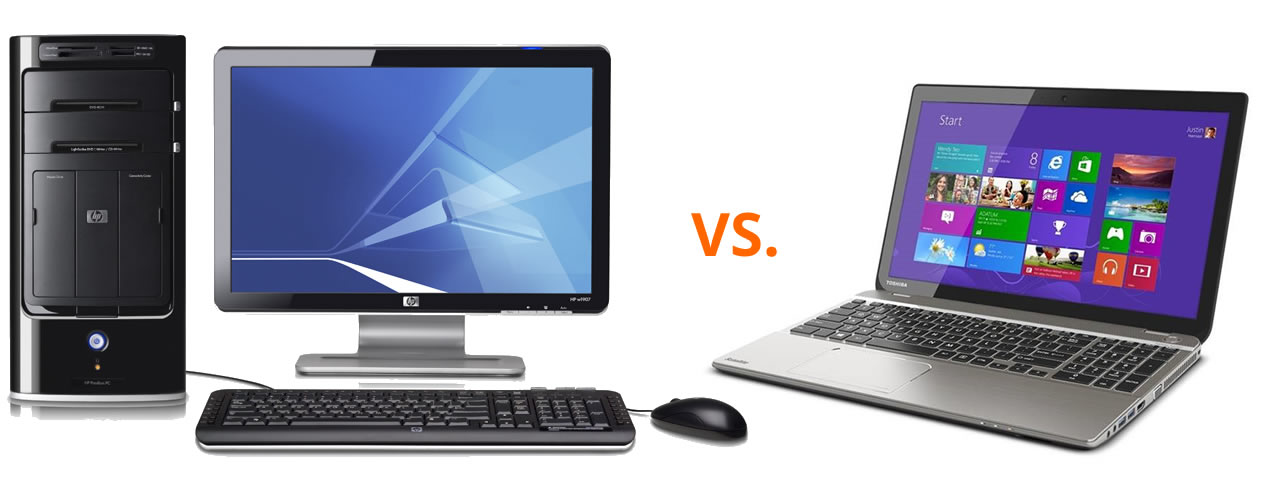 Desktop vs laptop
