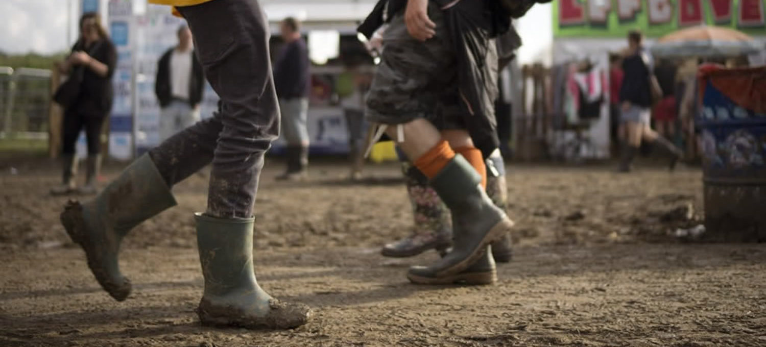 Festival wellies