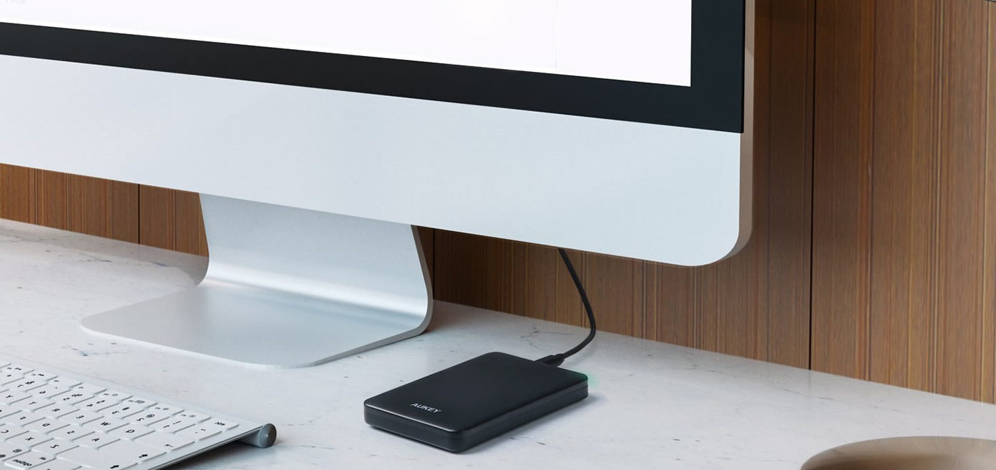 Aukey DS-B6 HDD enclosure