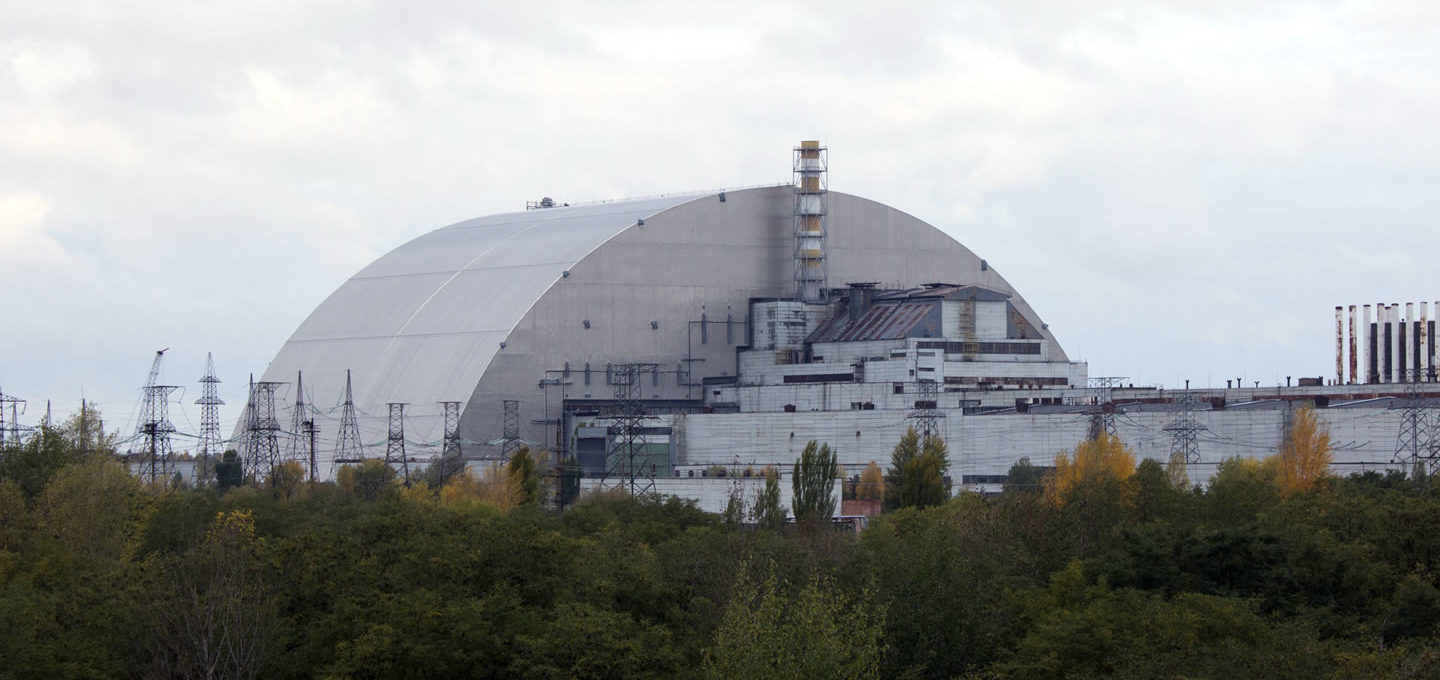 Chernobyl with New Safe Confinement