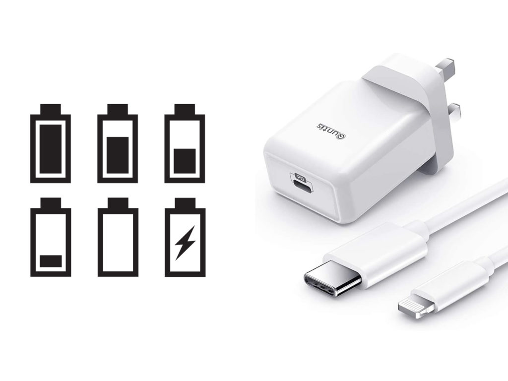 Quntis 18W fast charger